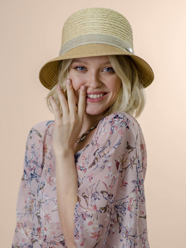 Шляпа женская летняя Nazarkov 98-NAZ-1065-35-1