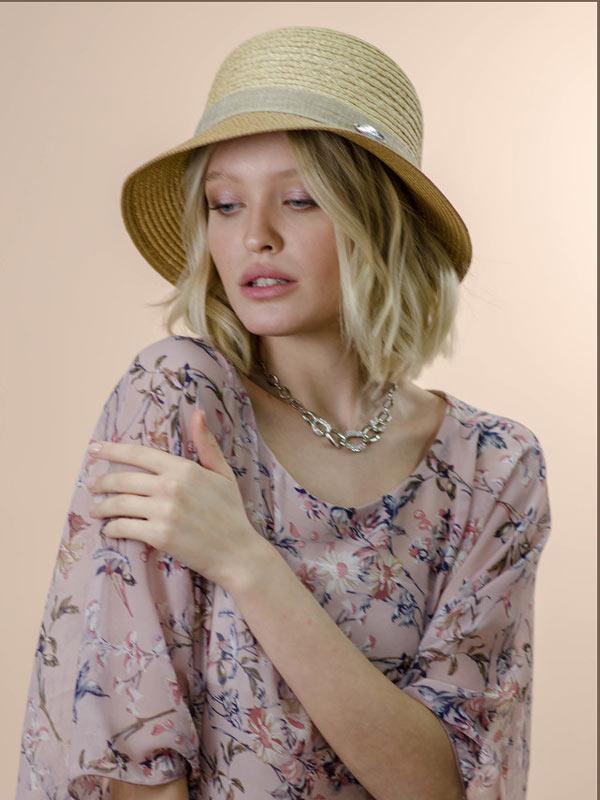 Шляпа женская летняя Nazarkov 98-NAZ-1065-35-2
